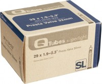 Quality Q Tubes Superlight 700c Presta Valve Tube