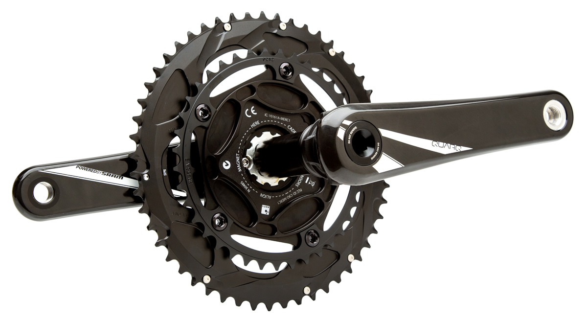 Quarq Power Meter : Quarq riken bb power meter crankset